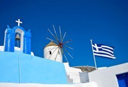 През септември/октомври на о. Санторини, Гърция: 4 нощувки със закуски, транспорт