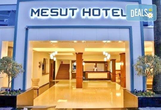 Лято в Анталия! 7 нощувки на база All Inclusive в Mesut Hotel 4*, самолетен билет, летищни такси, трансфер и застраховка! - Снимка 2