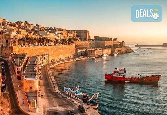 Екскурзия до Малта през септември: 5 нощувки със закуски, туристическа обиколка на столицата Валета и самолетен билет от София Тур! - Снимка 1