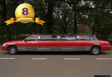 Лукс! Едночасова разходка на цялата компания с холивудска стреч-лимузина от Vivaldi Limousines и San Diego Limousines - Снимка