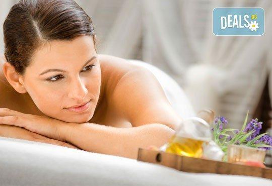 Релаксиращ лавандулов масаж за един или двама, рефлексотерапия и ароматна ваничка с билки от салон Лаура стайл! - Снимка 2
