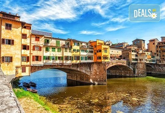 Самолетна екскурзия до Флоренция през юли, август и септември! 3 нощувки и закуски, самолетен билет, летищни такси и трансфер - Снимка 3