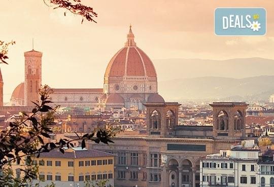 Самолетна екскурзия до Флоренция през юли, август и септември! 3 нощувки и закуски, самолетен билет, летищни такси и трансфер - Снимка 1