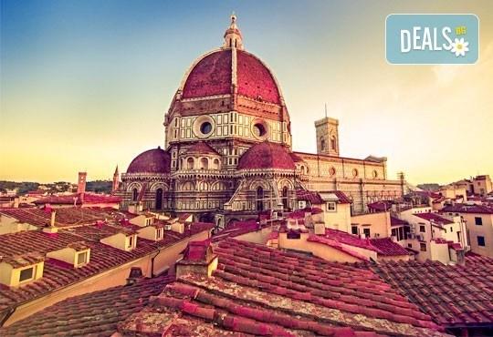 Самолетна екскурзия до Флоренция със Z Tour през юли, август и септември! 4 нощувки със закуски, билет, летищни такси и трансфери! - Снимка 2