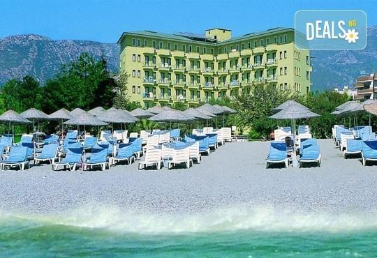 Last minute - почивка със самолет в Анталия! 7 нощувки, All Inclusive в хотел Sun Fire Beach 4*, Алания на брега на морето, двупосочен билет, летищни такси и трансфери - Снимка 3