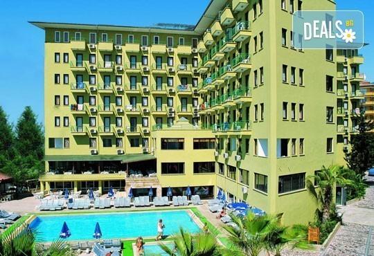 Last minute - почивка със самолет в Анталия! 7 нощувки, All Inclusive в хотел Sun Fire Beach 4*, Алания на брега на морето, двупосочен билет, летищни такси и трансфери - Снимка 4