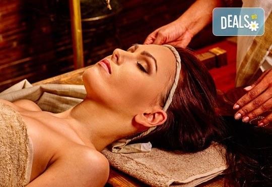 Без стрес и умора! 90-минутен абянга аюрведичен масаж на цяло тяло, Hot-Stone терапия с вулканични камъни, Green Health! - Снимка 1