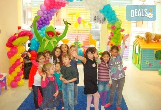 Детско парти за Рожден ден, за 10 или 20 деца! Аниматор, озвучаване, детско меню и шампанско и меню за възрастните, в клуб Мелиса! - Снимка 3