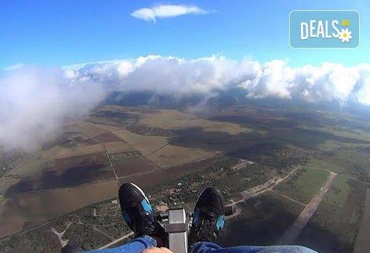 Тандемен полет с двуместен парапланер на 5 км от София + заснемане с HD GoPro action камера от Extreme sport! - Снимка 6