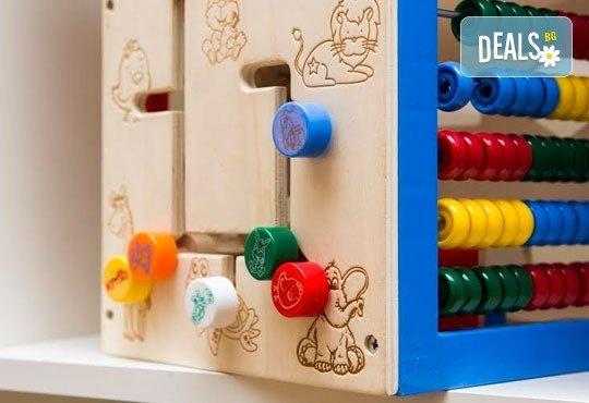 Уют и забавление за Вашето мъниче! Една седмица полудневна занималня за деца над 3 г. в детски парти клуб Цветна градина! - Снимка 7