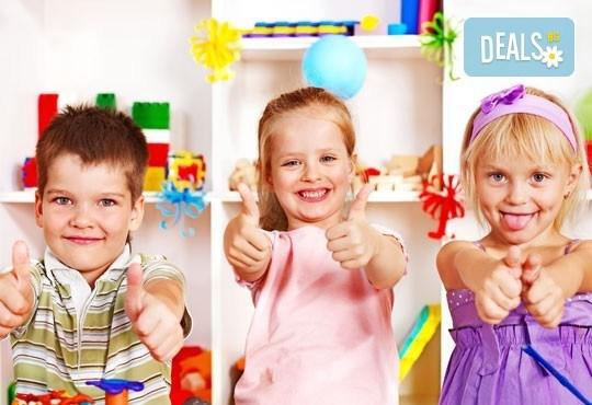 Уют и забавление за Вашето мъниче! Една седмица полудневна занималня за деца над 3 г. в детски парти клуб Цветна градина! - Снимка 8