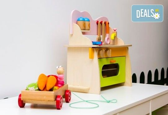 Една седмица целодневна занималня за деца над 3 г. в детски парти клуб Цветна градина! - Снимка 5