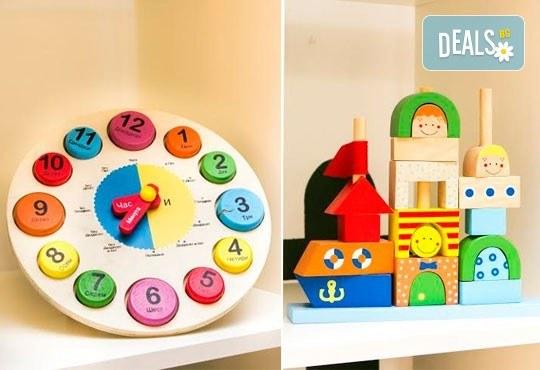 Една седмица целодневна занималня за деца над 3 г. в детски парти клуб Цветна градина! - Снимка 7