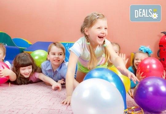 Една седмица целодневна занималня за деца над 3 г. в детски парти клуб Цветна градина! - Снимка 9