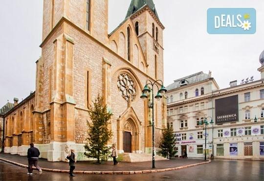 Екскурзия до Сараево, Босна и Херцеговина! 3 нощувки със закуски, транспорт и посещение на Андричград и Босненските пирамиди! - Снимка 4