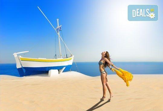 През юли и август за един ден на плаж Аммолофи, Кавала, Гърция! С включени транспорт и екскурзовод от агенция Поход! - Снимка 3
