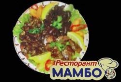Пилешко мезе за двама и 2 бр. мешана салата, Ресторант-механа Мамбо
