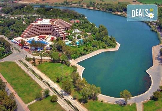 Специална цена за почивка през октомври в Сиде, Анталия! 7 нощувки Ultra All, Grand Prestige Hotel & Spa 5*, възможност за 2 вида транспорт! - Снимка 1