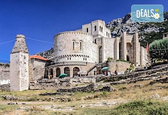 Екскурзия до Албания за септемврийските празници! 3 нощувки със закуски в хотел 2*/3* в Дуръс, транспорт и програма в Скопие и Струга! - Снимка 2