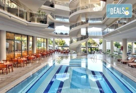 Супер почивка със самолет в Анталия! 7 нощувки, All Inclusive в хотел L`ANCORA BEACH 4*, Кемер, двупосочен билет, летищни такси и трансфери - Снимка 11