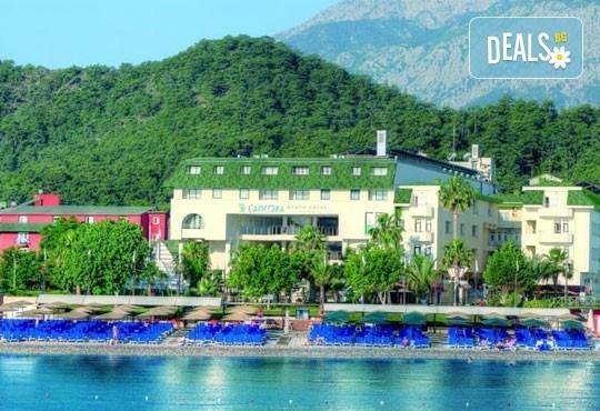 Супер почивка със самолет в Анталия! 7 нощувки, All Inclusive в хотел L`ANCORA BEACH 4*, Кемер, двупосочен билет, летищни такси и трансфери - Снимка 2