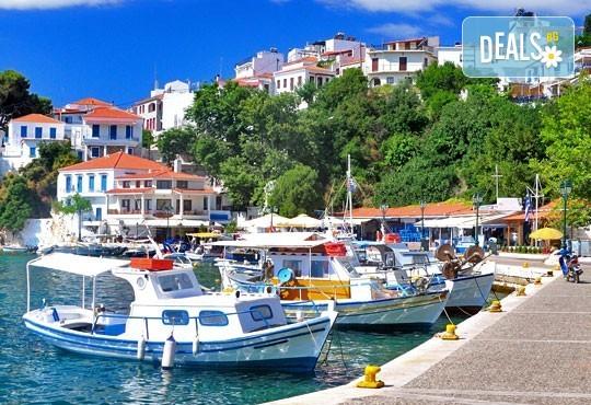 Екскурзия през октомври до островите Скиатос, Скопелос и Алонисос, Гърция! 3 нощувки със закуски, транспорт и посещение на Волос! - Снимка 1