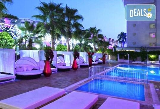 Всяка събота от 27.08 до 01.10 - страхотна почивка със самолет в Анталия! 7 нощувки, All Inclusive в хотел ANJELIQ CLUB HOTEL 4*, Алания, двупосочен билет, летищни такси и трансфери - Снимка 8