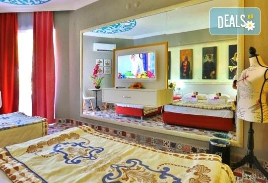 Всяка събота от 27.08 до 01.10 - страхотна почивка със самолет в Анталия! 7 нощувки, All Inclusive в хотел ANJELIQ CLUB HOTEL 4*, Алания, двупосочен билет, летищни такси и трансфери - Снимка 3