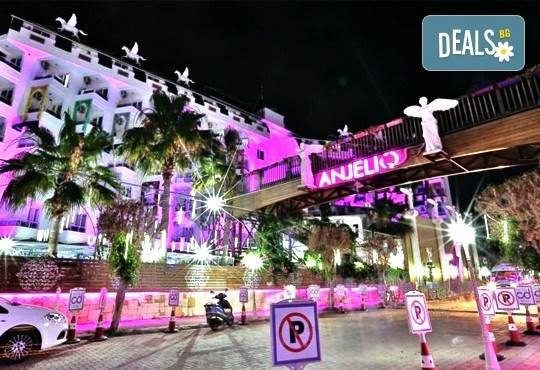 Всяка събота от 27.08 до 01.10 - страхотна почивка със самолет в Анталия! 7 нощувки, All Inclusive в хотел ANJELIQ CLUB HOTEL 4*, Алания, двупосочен билет, летищни такси и трансфери - Снимка 1