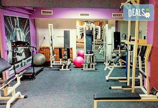 Неограничен брой тренировки с инструктор за жени и мъже в рамките на 30 дни и изготвяне на индивидуална тренировъчна програма от фитнес клуб Алпина - Снимка 7