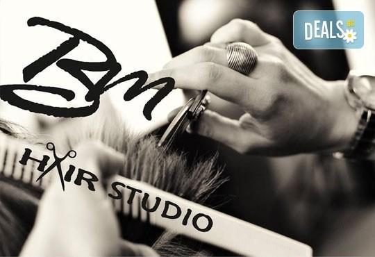 Стилът Омбре - майсторски изпълнен от стилисти Боби Ярчев и Маги Андреева с цветовете на Wella Koleston Perfekt и страхотна прическа със сешоар в BM Hair Studio - Снимка 2