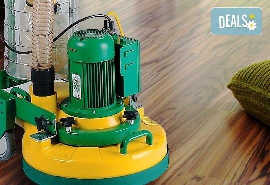 За съвършено чист под! Професионално почистване на кв. м. с препарати и полир-машина на твърди подови настилки от фирма Авитохол! - Снимка 1