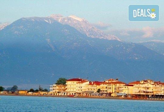 Мини почивка през септември на Олимпийската ривиера! 3 нощувки със закуски и вечери в хотел Platon Beach 2* и транспорт! - Снимка 2
