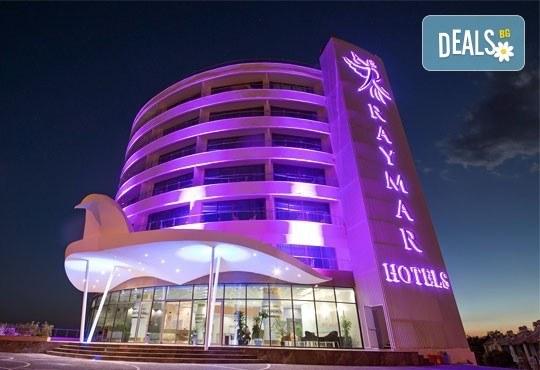 Почивка в Анталия, самолетна програма, септември - 7 нощувки на база Ultra All Inclusive в Raymar Hotel 5*, билет, летищни такси и трансфери! - Снимка 15