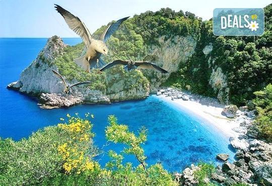 Почивка през август в Неа Анхеалос, Гърция! 5 нощувки, закуски и вечери, транспорт, екскурзовод и възможност за круиз до остров Скиатос! - Снимка 1