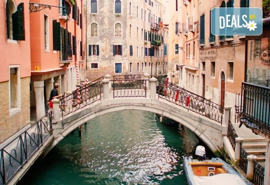 Самолетна екскурзия до Венеция на дата по избор със Z Tour! 4 нощувки със закуски в хотел 2*, билет, летищни такси и трансфер! - Снимка 2