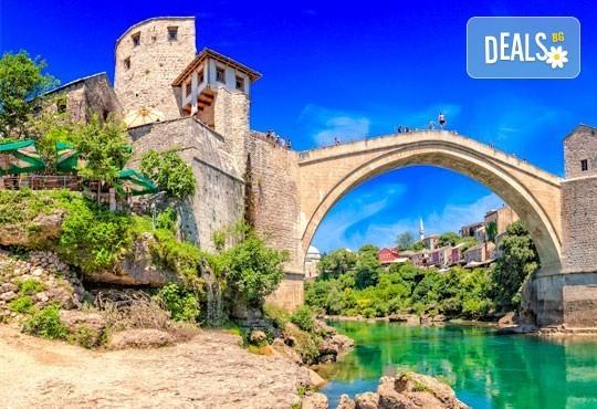 Екскурзия до Босна и Херцеговина, с Алиса Турс! 3 нощувки със закуски, хотели 2/3*, транспорт, програми в Сараево, Мостар, Вишеград, Меджугорие - Снимка 1