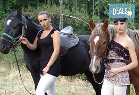 Обичате ли конете? Конна езда от Конна база Св. Иван Рилски на чист въздух във Владая - Снимка 2