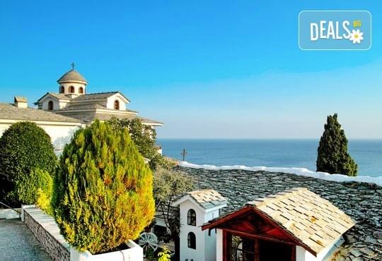 Септемврийски празници на остров Тасос, Гърция! 2 нощувки със закуски, транспорт, разходка в Кавала и Драма! - Снимка 2