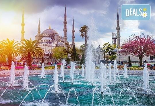 Септемврийски празници в Истанбул, с Дениз Травел ! 2 нощувки със закуски в хотел 3/4*, транспорт и бонус посещение на Принцовите острови - Снимка 1