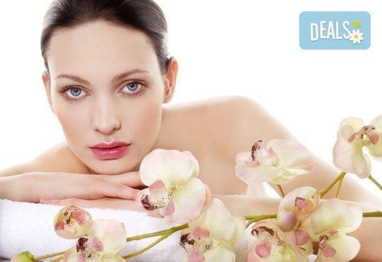 Почистване на лице в 13 стъпки с българска козметика по френски патент и терапия за лице с ампула от салон Relax beauty - Снимка 1