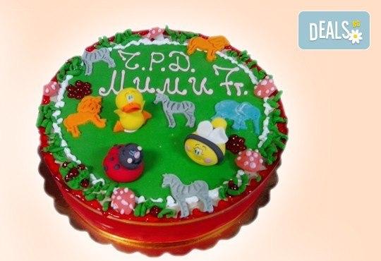 3D торта с любими на децата герои от филмчета по дизайн на Сладкарница Орхидея! - Снимка 7