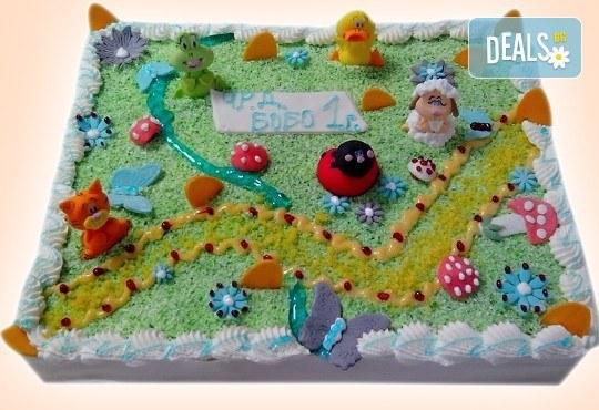 3D торта с любими на децата герои от филмчета по дизайн на Сладкарница Орхидея! - Снимка 4