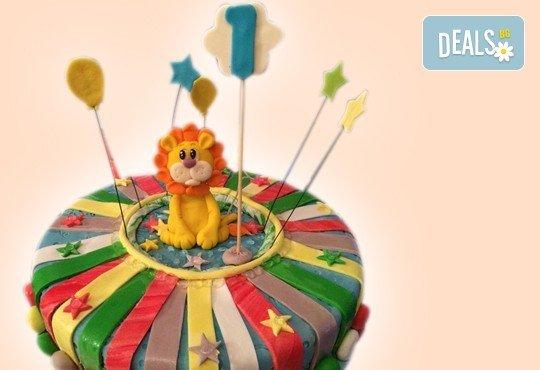 3D торта с любими на децата герои от филмчета по дизайн на Сладкарница Орхидея! - Снимка 5