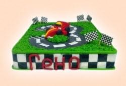 За момчетата! 3D торта с герои от филми по дизайн на Сладкарница Орхидея! - Снимка