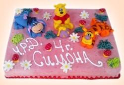 Торти за момичета! 3D торта с герои от филми по дизайн на Сладкарница Орхидея! - Снимка