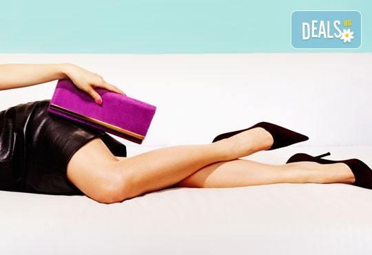 Избавете се от окосмяването! Вземете IPL фотоепилация на цели крака и 2 зони по избор в салон Орхидея - Студентски град! - Снимка 1