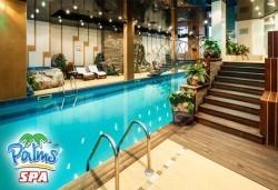 Басейн, фитнес или комбинация със сауна/парна баня от Palms Spa към хотел Анел 5*