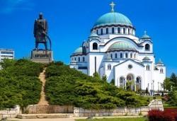 1 ден през октомври в Белград, Сърбия: транспорт и екскурзовод