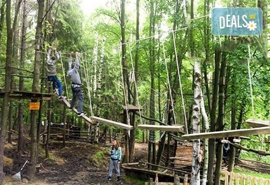 60-минутно забавление на въжена градина Паяжината в развлекателен парк Бонго-Бонго за Вас и Вашето дете, Драгалевци! - Снимка 1